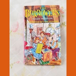 THE BORROWERS VTG Children's Book Fantasy Novel